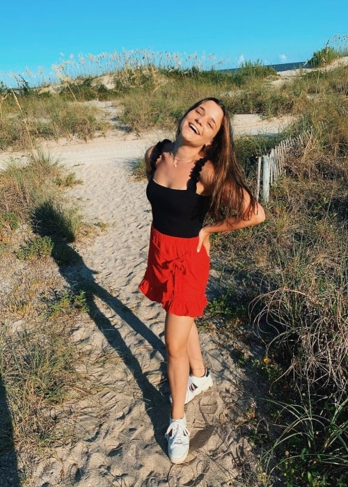 Chloe Schnapp as seen in a picture that was taken at in Sea Island, Georgia in July 2020