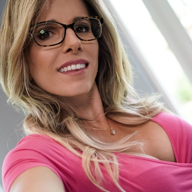 Cory Chase as seen in a selfie that was taken in January 2021