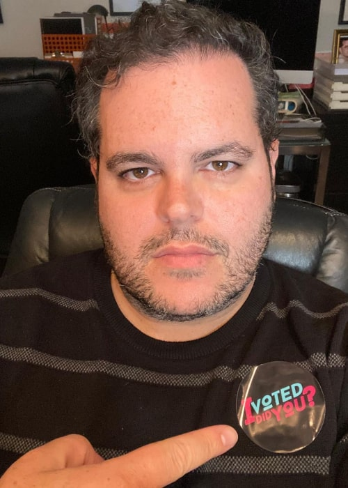 Josh Gad as seen in an Instagram Post in October 2020