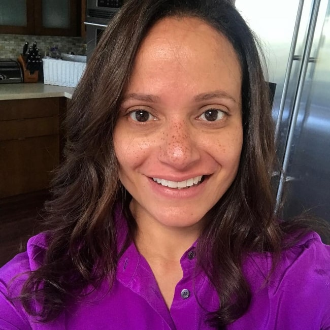 Judy Reyes in October 2018 declaring that she stands in unity with LGBTQ youth of every background, race, religion, gender, identity, and orientation