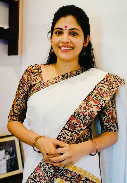 Sshivada as seen while smiling for a picture in October 2020
