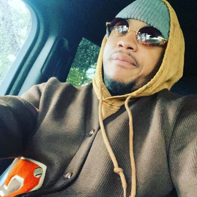 Tequan Richmond as seen while taking a selfie in Beverly Hills, California in December 2020