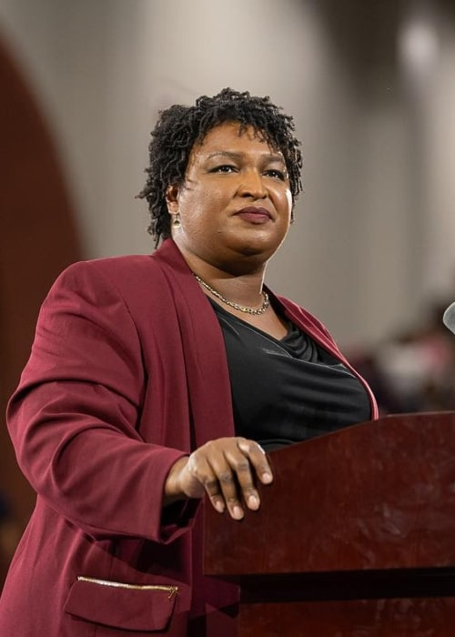 Stacey Abrams as seen in an Instagram Post in September 2018