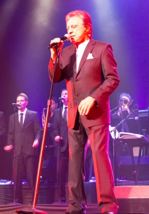 Frankie Valli as seen while performing at the Saban Theater, Beverly Hills, California in 2013
