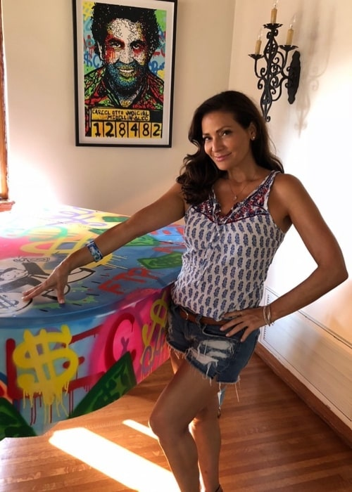 Constance Marie as seen in a picture that was taken in the past