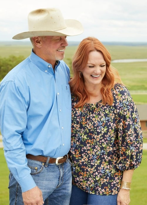Ree Drummond and Ladd Drummond, as seen in October 2020