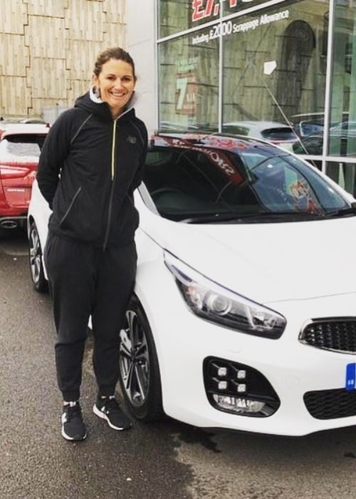 Charlotte Edwards as seen in an Instagram Post in March 2018