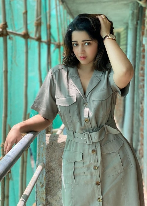 Charmy Kaur as seen in an Instagram post in March 2020