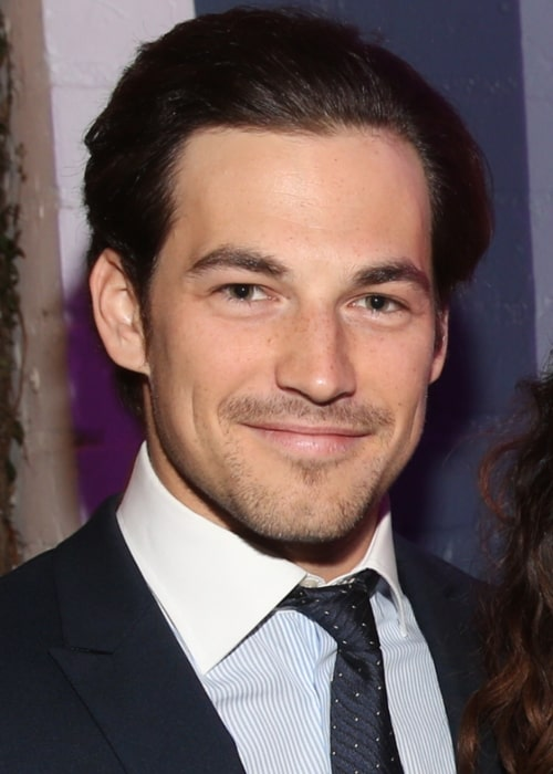 Giacomo Gianniotti as seen in a picture that was taken on March 23, 2016