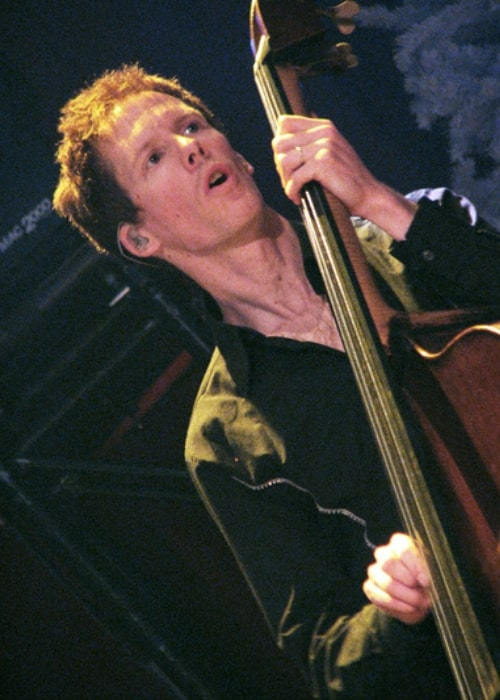 Jim Creeggan as seen in a picture that was taken while playing the bass at Massey Hall Barenaked Ladies on December 7, 2008