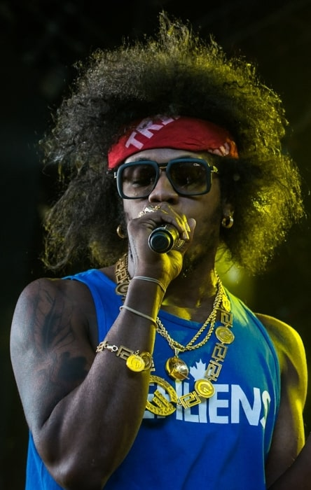 Trinidad James pictured while performing in August 2013