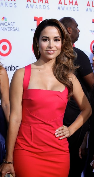 Zulay Henao pictured at the 2013 Alma Awards