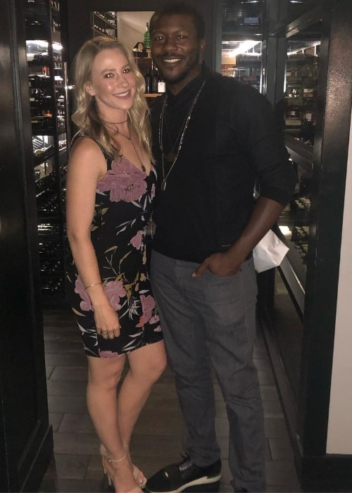 Edwin Hodge and Bayley Brunnmeier in July 2019