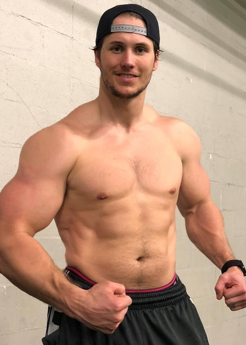 Andrew East as seen in an Instagram Post in April 2018