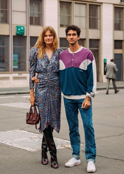 Matthias Dandois and Constance Jablonski, as seen in May 2021