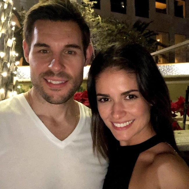 Carla Ossa as seen in a picture that was taken with her husband Matthew in January 2019