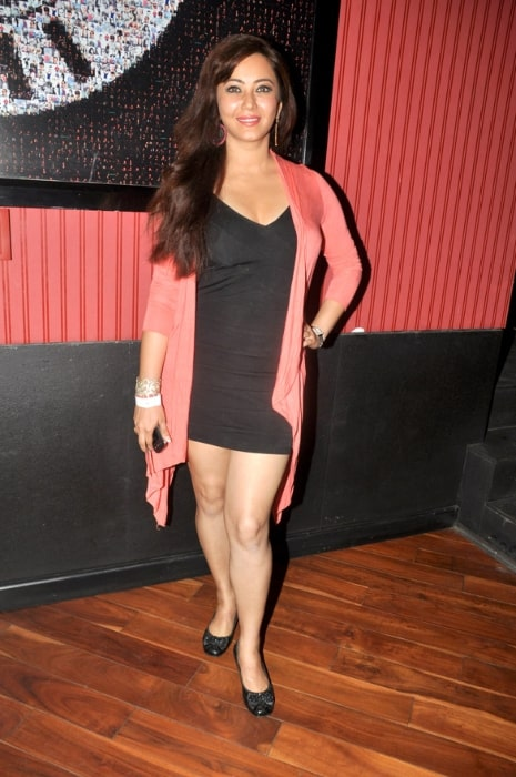 Nausheen Ali Sardar at the premiere of Ash Chandler's play at The Comedy Store