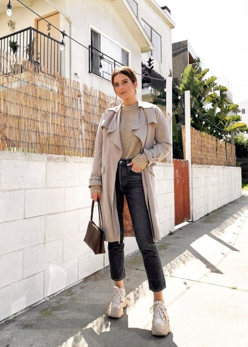 Michelle Madsen as seen in a picture that was taken in Los Angeles, California in March 2021