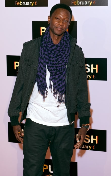 Edi Gathegi pictured while arriving at the premiere of 'Push' at Mann Theater, Westwood, Los Angeles, California in 2009
