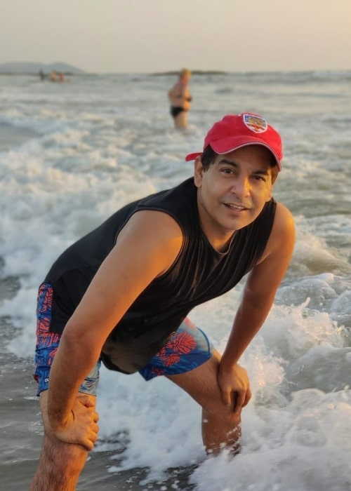 Gaurav Gera posing for a picture in December 2019