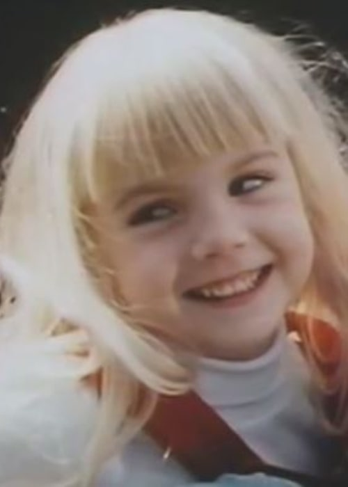 Heather O'Rourke as seen while smiling