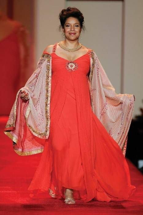 Phylicia Rashad pictured at the 2007 Red Dress Collection for The Heart Truth Foundation