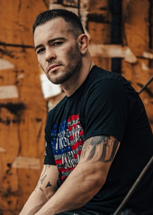 Colby Covington as seen in an Instagram Post in February 2021