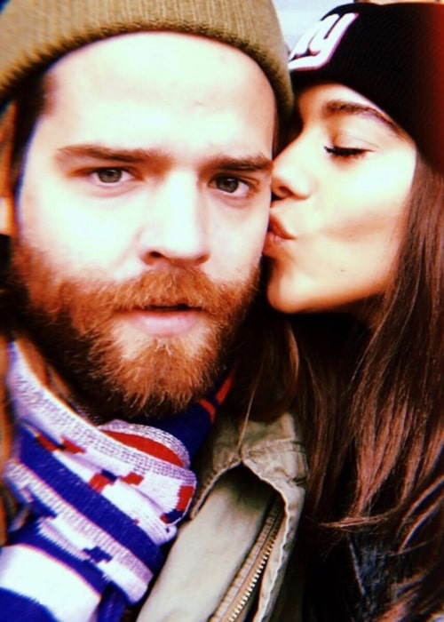 Jack Lawless as seen in a selfie with his spouse Helena Bastos Lawless in August 2019