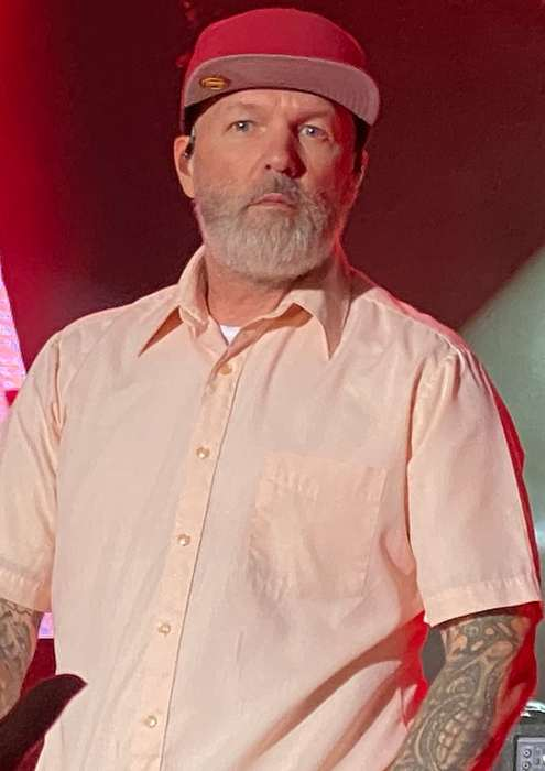 Fred Durst as seen performing onstage in 2021