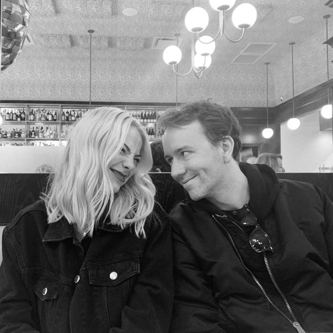 Allie Marie Evans and her beau photographer Tyler Shields in February 2020