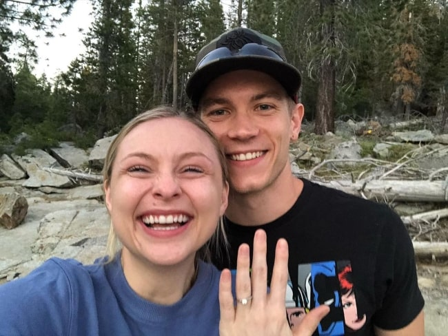 Shelby Wulfert in July 2021 announcing her decision to marry her best friend