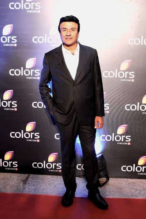 Anu Malik seen at the Colors annual bash in 2016