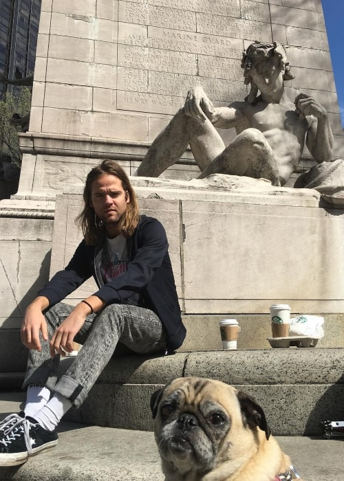 Jack Lawless as seen in a picture that was taken in April 2017