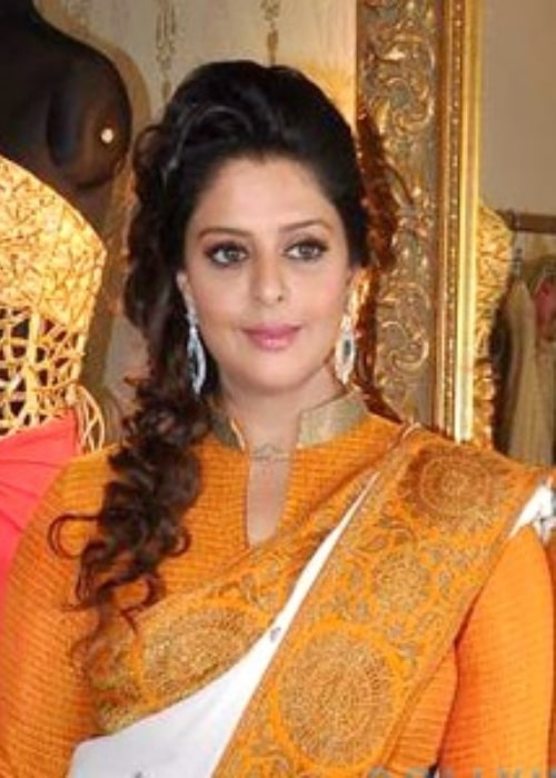 Nagma as seen in a picture that was taken on September 15, 2015