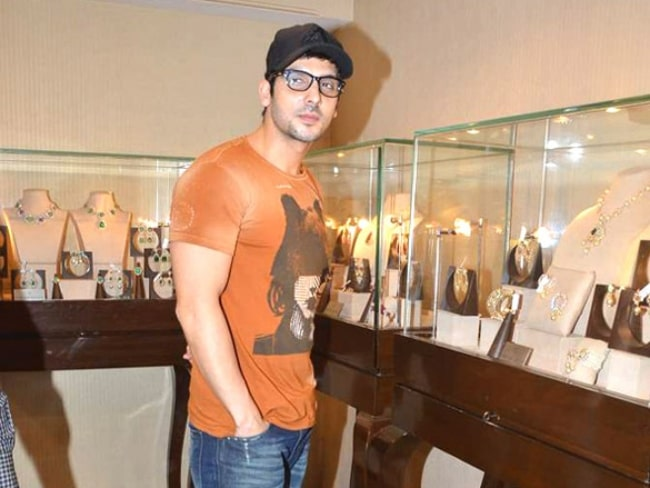 Zayed Khan as seen at a Jewellery shop