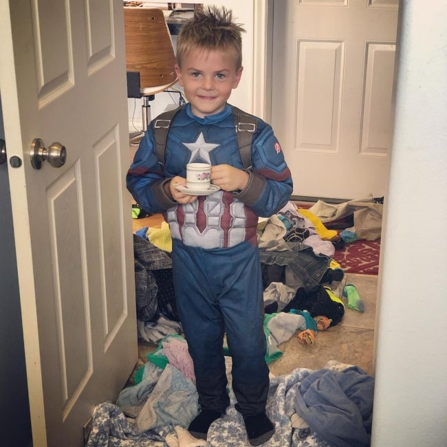Daxton Butler as seen in a picture that was taken in August 2019