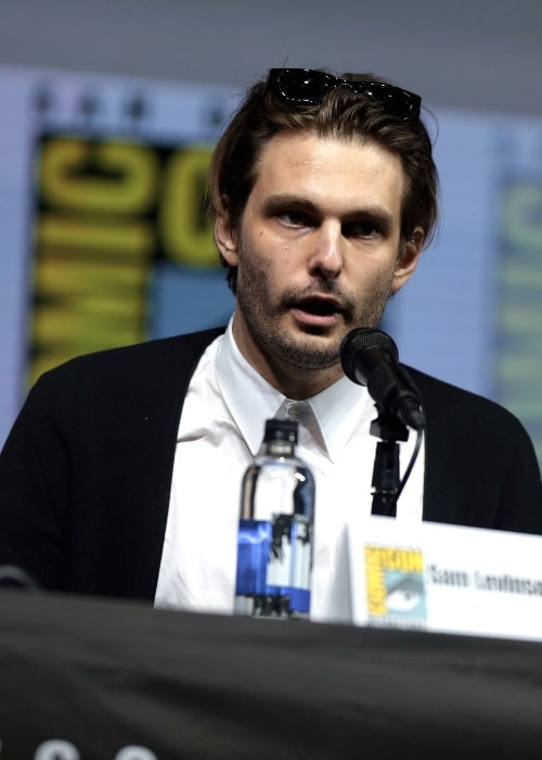 Sam Levinson as seen while speaking at the 2018 San Diego Comic Con International, for 'Assassination Nation', at the San Diego Convention Center in San Diego, California