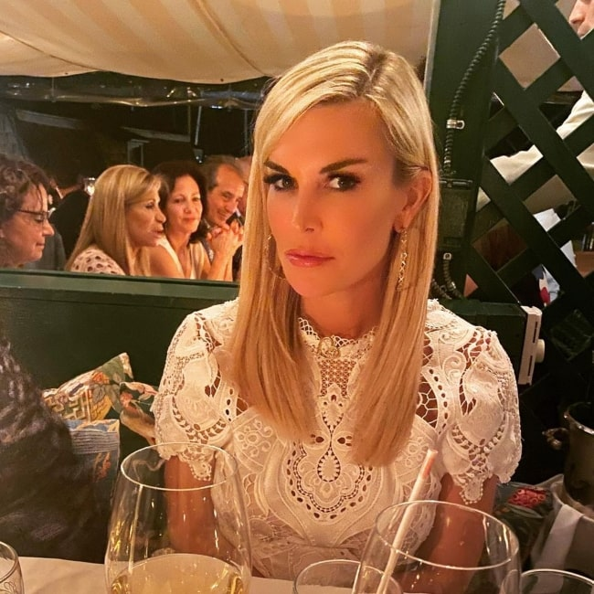 Tinsley Mortimer as seen in a picture that was taken at Newport, Rhode Island in August 2021