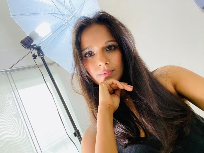 Dilshad Vadsaria in November 2020 in a self-tape situation