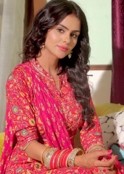 Priyanka Choudhary as seen in a picture that was taken in August 2021