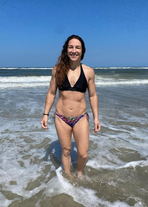 Sara McMann as seen in an Instagram Post in May 2021