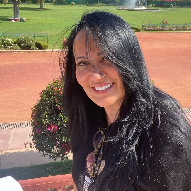 Ayesha Shroff as seen in a picture that was taken in February 2021