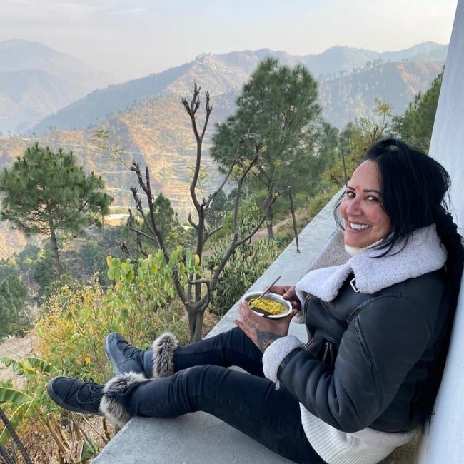 Ayesha Shroff as seen in a picture that was taken in November 2020