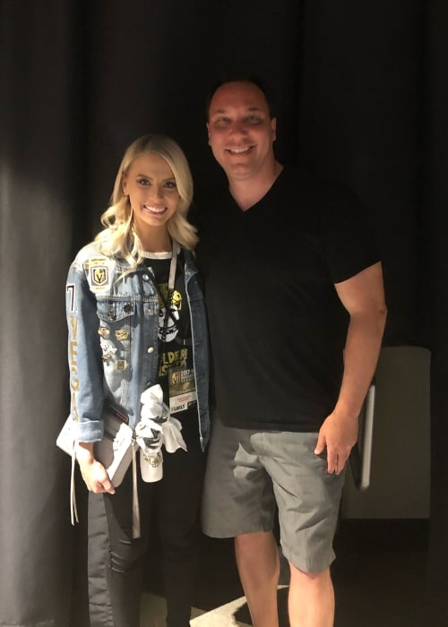 Steve Carbone as seen in a picture that was taken with Emily Ferguson at Vegas Golden Knight in June 2018