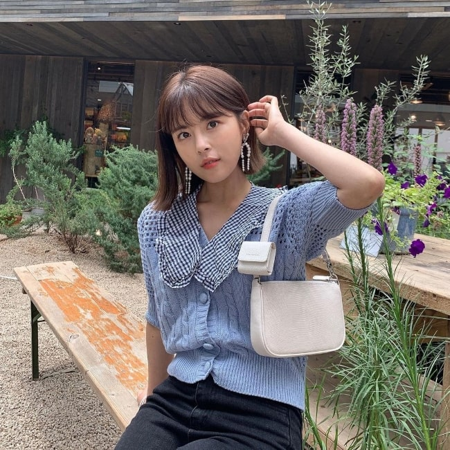 Min Do-hee as seen while enjoying her weekend in August 2021