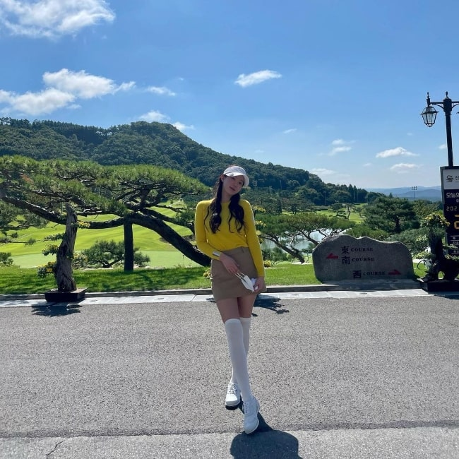 Im Soo-hyang posing for a stunning picture in 2021