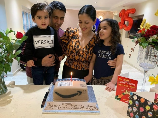 Anshu Ambani on her birthday in February 2021 thanking everybody for making the day super special