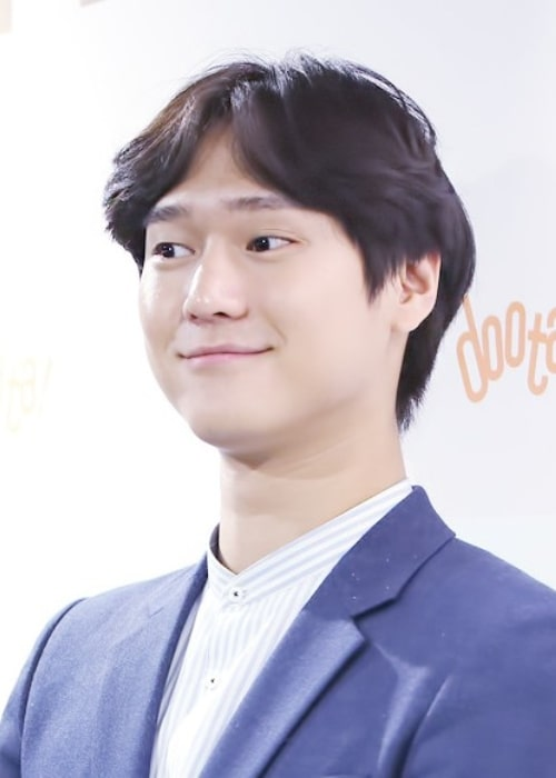 Go Kyung-pyo as seen in February 2016