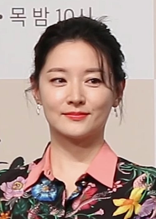 Lee Young-ae as seen in a picture that was taken in in Saimdang Press Conference in January 2017